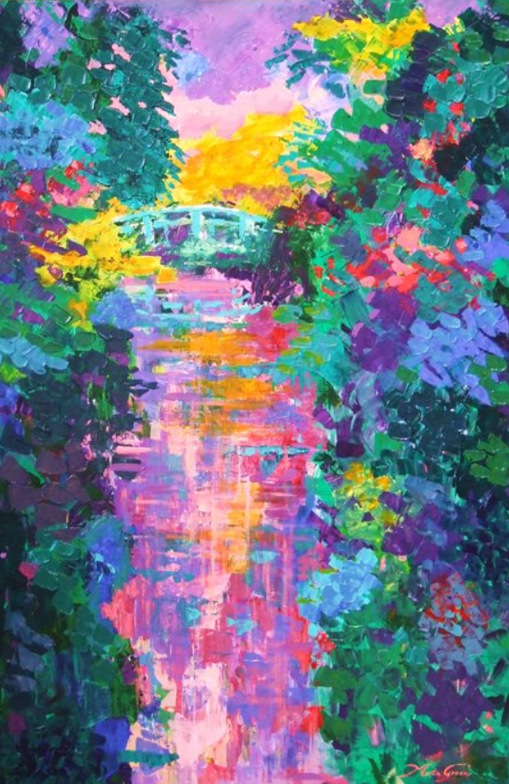 Reflectie in Giverny